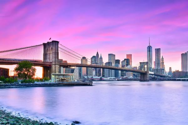 A view of New York City in the United States, which can be visited as one of the cheap Americas category of holiday packages from Flight Centre.