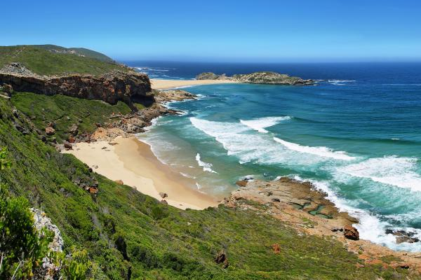 A view of the Eastern Cape coast, which can be visited with a cheap holiday package from Flight Centre.