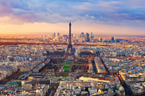 A view of Paris, France, which can be visited with a cheap holiday package from Flight Centre.